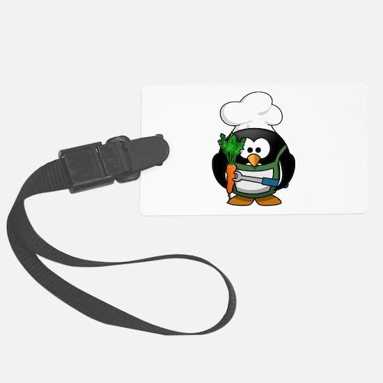 Veggie Penguin Luggage Tag