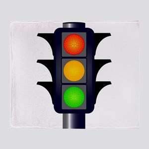 Hooded Traffic Lights Throw Blanket