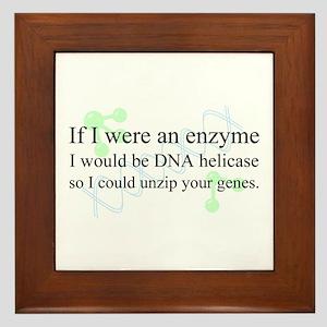 """""""DNA Helicase"""" Framed Tile"""