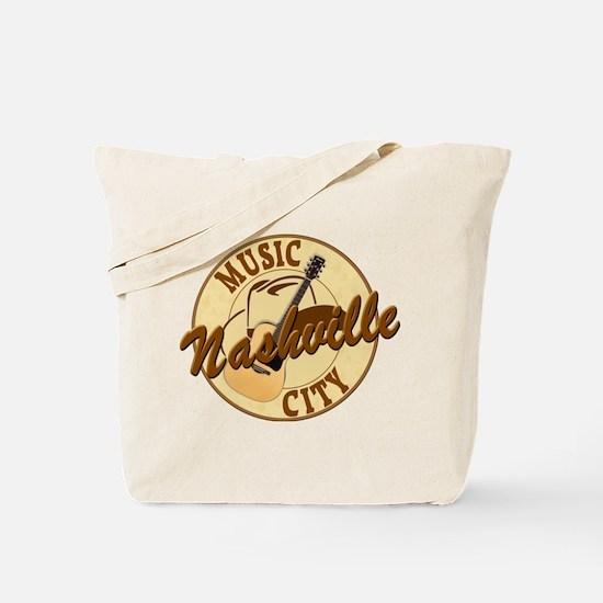 Nashville Music City-LT-8 Tote Bag