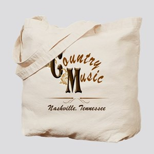 Country Music-01 Tote Bag