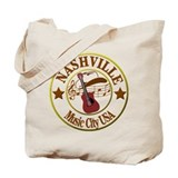 Nashville Canvas Tote Bag