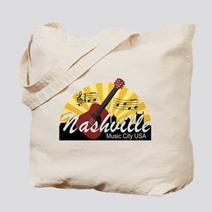 Nashville Music City USA-07 Tote Bag