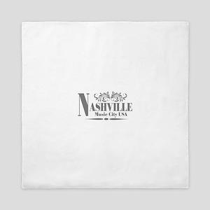 Vintage Nashville-01 Queen Duvet
