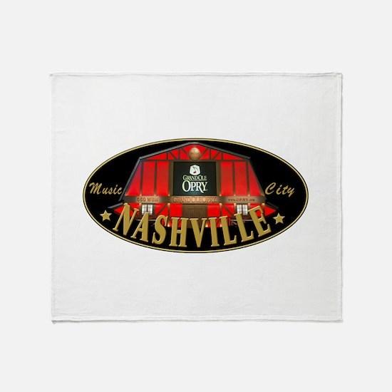 Nashville Throw Blanket
