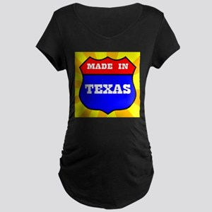 Made In Texas Shield Maternity T-Shirt