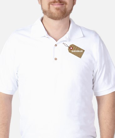 Made In England Tag Golf Shirt