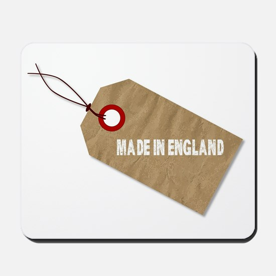 Made In England Tag Mousepad
