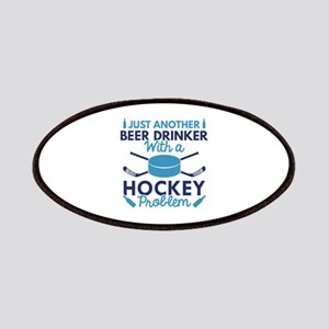 Beer Drinker Hockey Patches