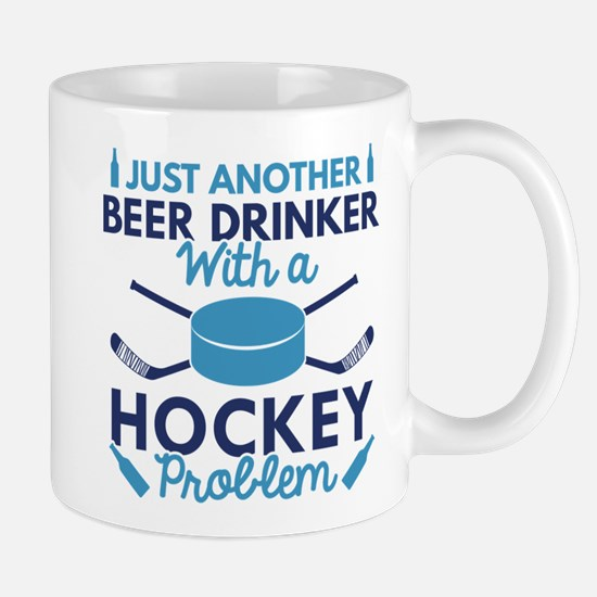 Beer Drinker Hockey Mug