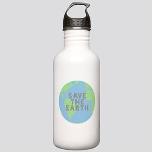 Save The Earth Water Bottle