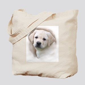 Lab Pup Color Tote Bag