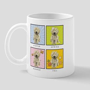 4 Seasons Doodle Mug