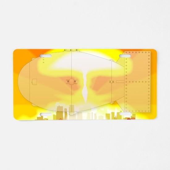 Cute Environmental science Aluminum License Plate