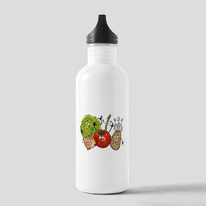 Funny cartoon vegetabl Stainless Water Bottle 1.0L