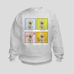 4 Seasons Doodle Kids Sweatshirt