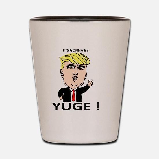Funny Presidents Shot Glass