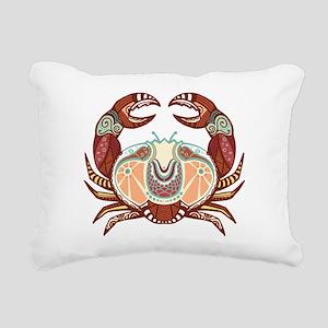 Cancer zodiac sign Rectangular Canvas Pillow