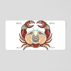 Cancer zodiac sign Aluminum License Plate