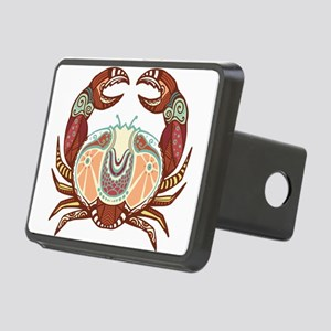 Cancer zodiac sign Rectangular Hitch Cover