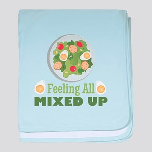 Mixed Up baby blanket