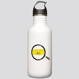 Magnifying Glass Tape Stainless Water Bottle 1.0L