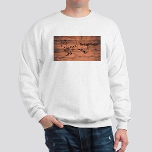 Alaska Map Brand Sweatshirt
