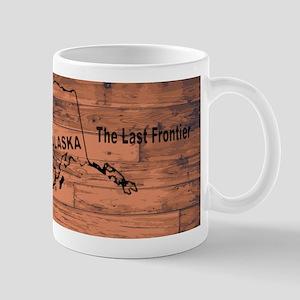 Alaska Map Brand Mugs