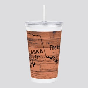 Alaska Map Brand Acrylic Double-wall Tumbler