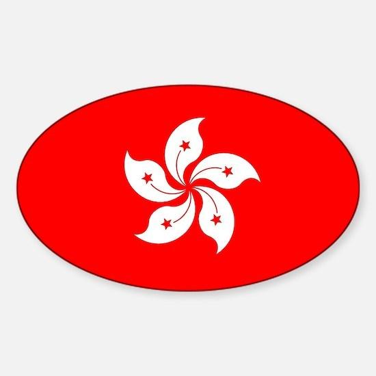 Hong Kong Flag Decal