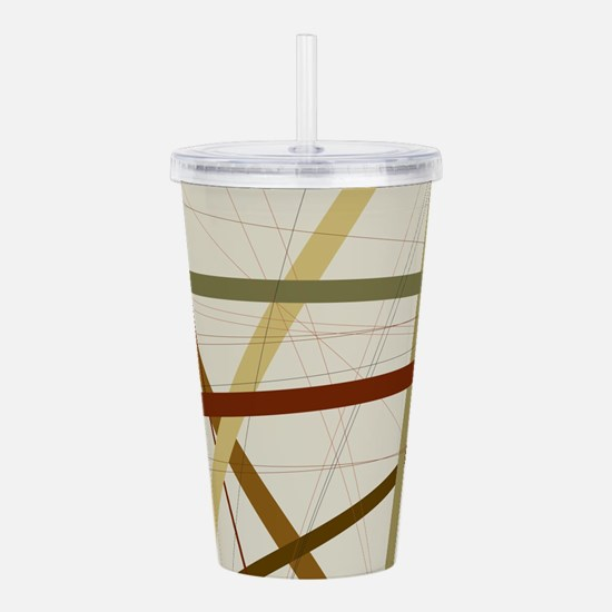 Criss Cross Acrylic Double-wall Tumbler