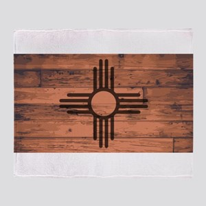 New Mexico State Flag Brand Throw Blanket