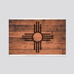 New Mexico State Flag Brand Magnets