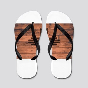 New Mexico State Flag Brand Flip Flops
