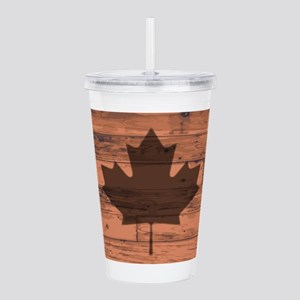 Canada Flag Brand Acrylic Double-wall Tumbler