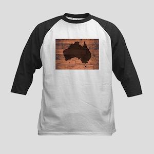 Australia Map Brand Baseball Jersey