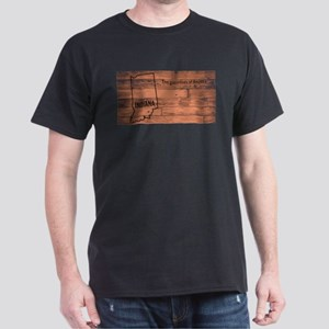 Indiana Map Brand T-Shirt