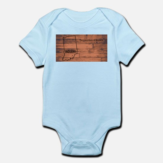 Indiana Map Brand Body Suit