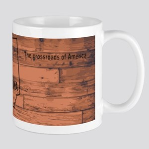 Indiana Map Brand Mugs