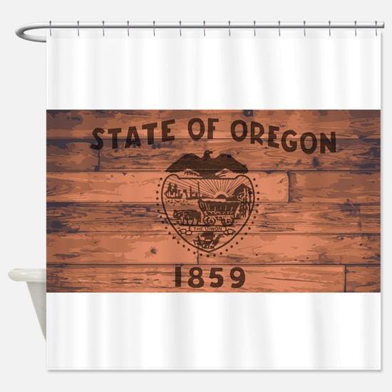 Oregon State Flag Brand Shower Curtain