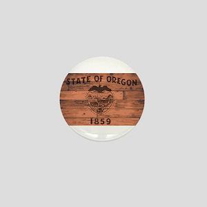 Oregon State Flag Brand Mini Button