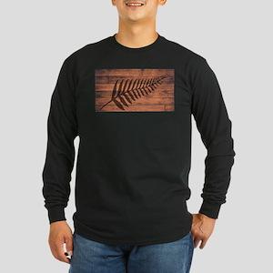 New Zealand Fern Brand Long Sleeve T-Shirt
