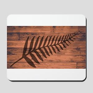New Zealand Fern Brand Mousepad