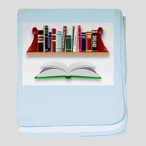 Books baby blanket
