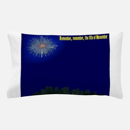 5th November City Pillow Case