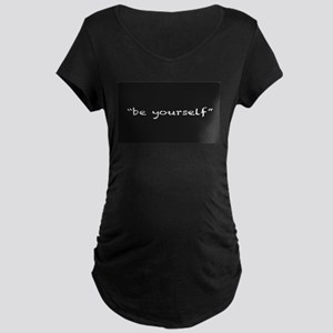 Be Yourself Maternity T-Shirt