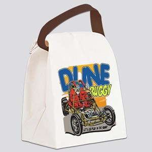 Dune Buggy Let's Go Play in the S Canvas Lunch Bag