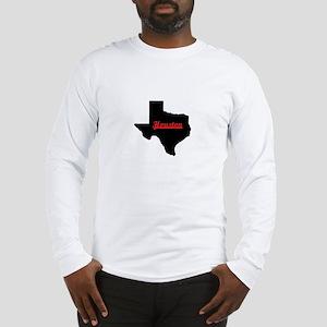 Houston Texas Long Sleeve T-Shirt