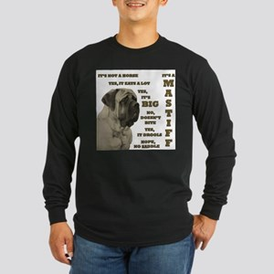 Mastiff FAQ Long Sleeve T-Shirt