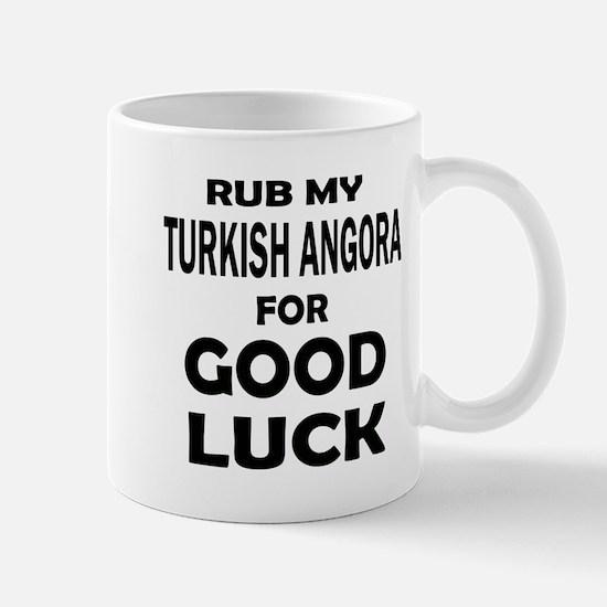 Rub my Turkish Angora for good l Mug